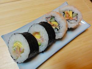 Resep Dan Cara Membuat Sushi Dengan Mudah - Cantikinfo, Resep Sushi sederhana oleh Emma Rosa - Cookpad, Resep Sushie Tei Dragon Roll Volcano Sederhana Praktis