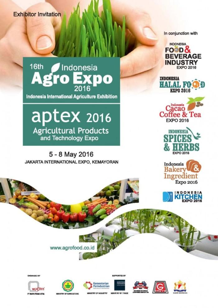 Jakarta Agro & FB Industry Expo 5-8may2016