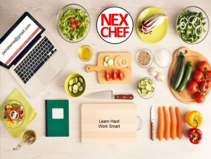 pentime nexchef Learn Hard Work Smart